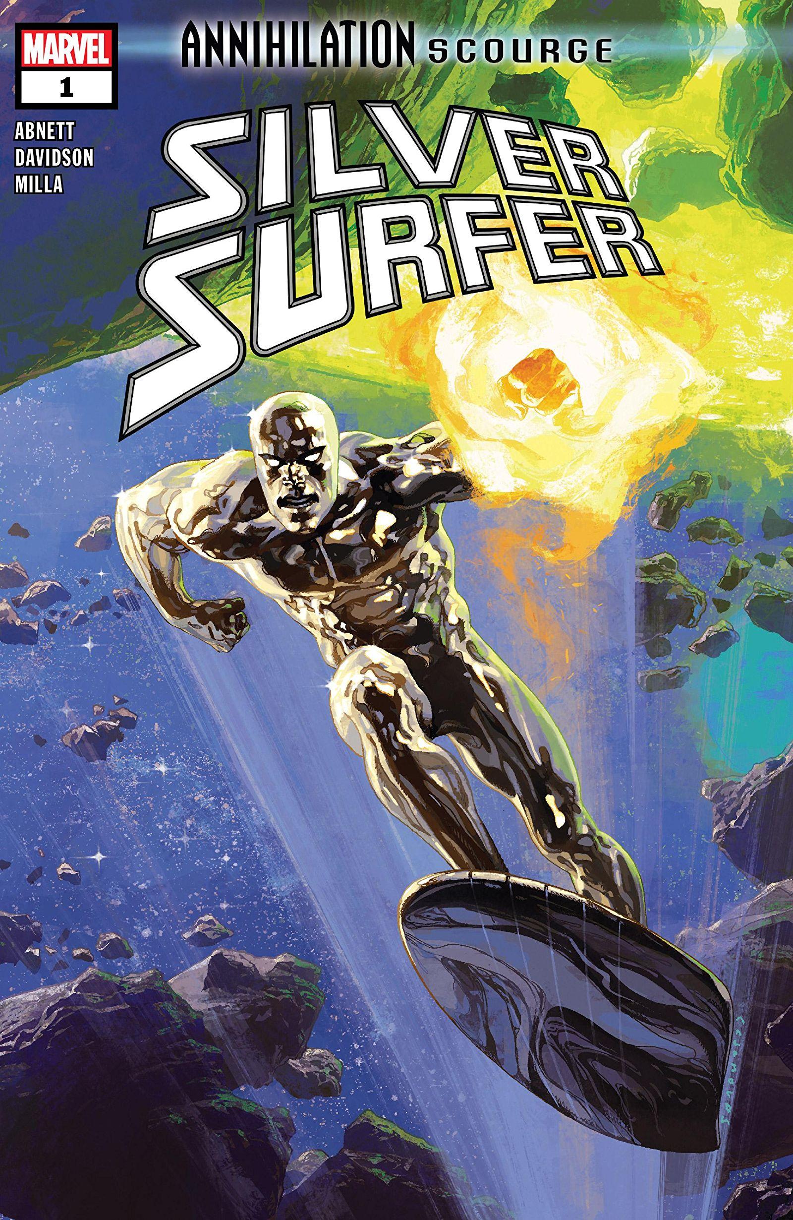 Annihilation - Scourge: Silver Surfer Vol 1 1