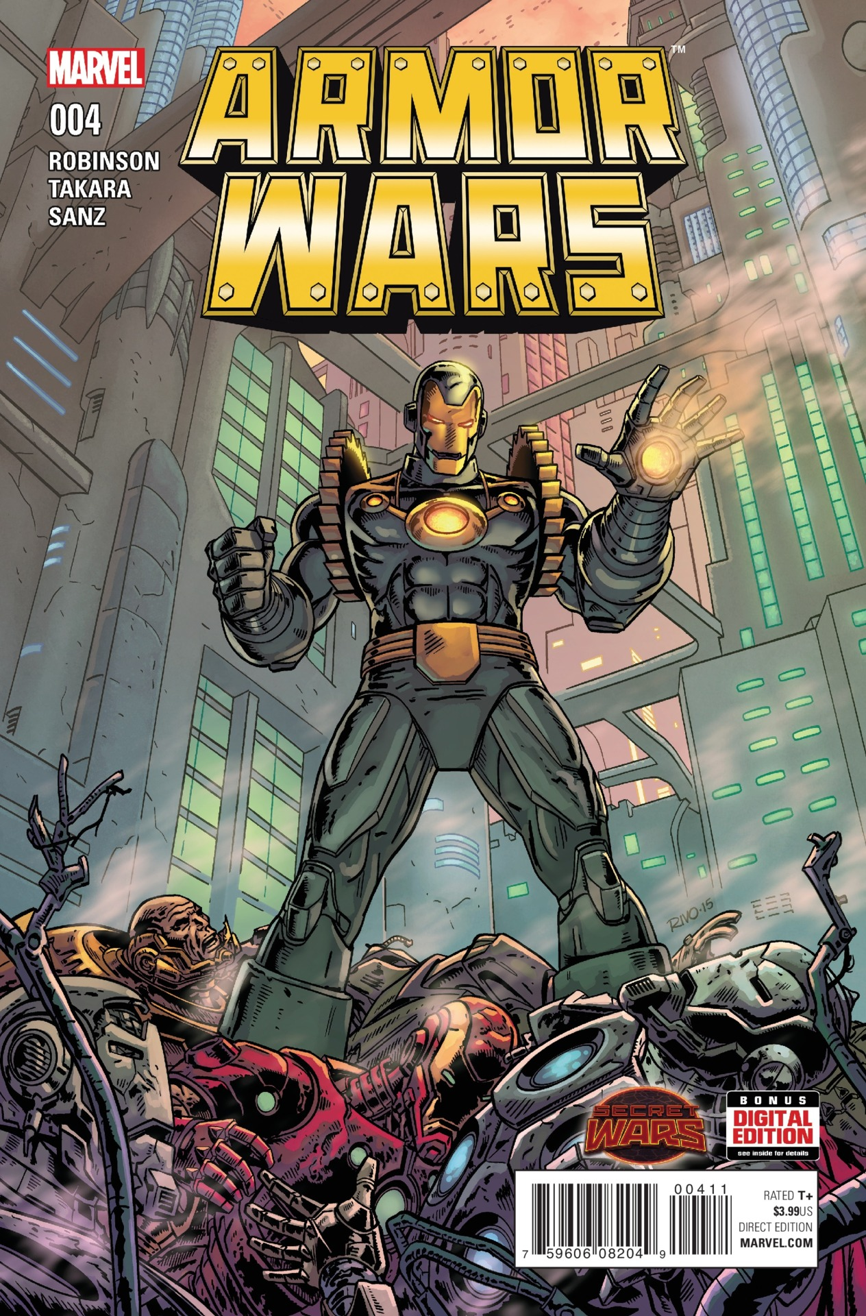 Armor Wars Vol 1 4