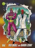 Johann Shmidt and Helmut Zemo (Earth-616) from Marvel Universe Cards Series III 0001