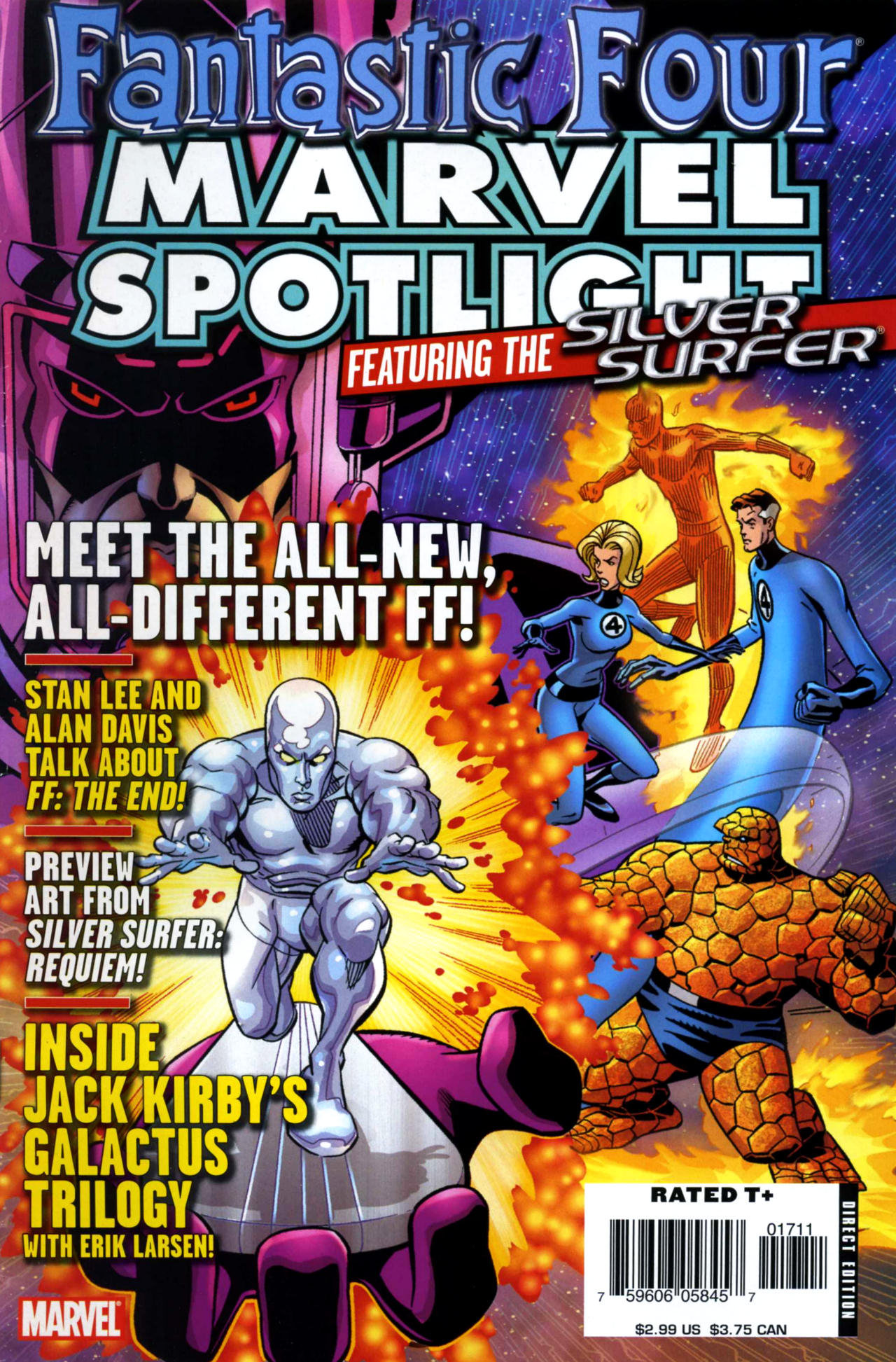 Marvel Spotlight: Fantastic Four and the Silver Surfer Vol 1 1