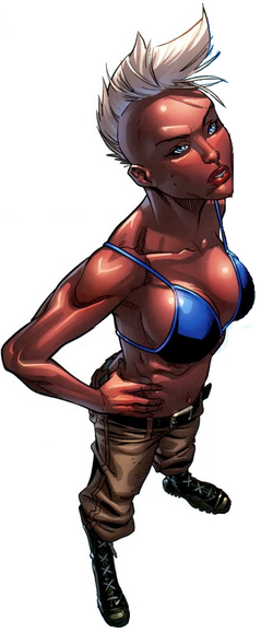 Ororo Munroe (Earth-1610) from Ultimate X-Men Vol 1 20 0001.png