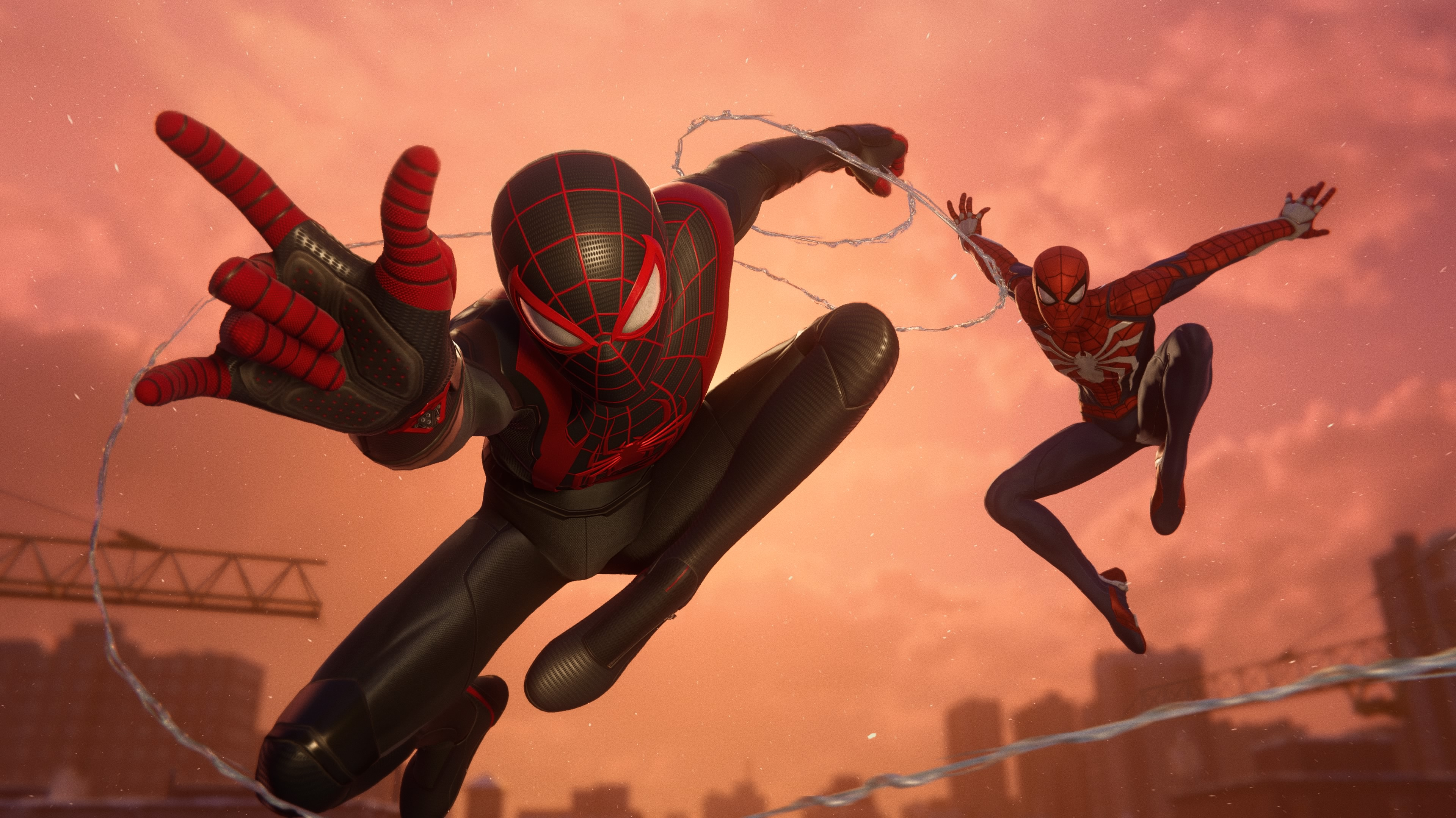 Peter Parker (Earth-1048) and Miles Morales (Earth-1048) from Marvel's Spider-Man Miles Morales 001.jpg