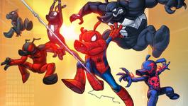 Spider-Ham Family (Earth-TRN461)