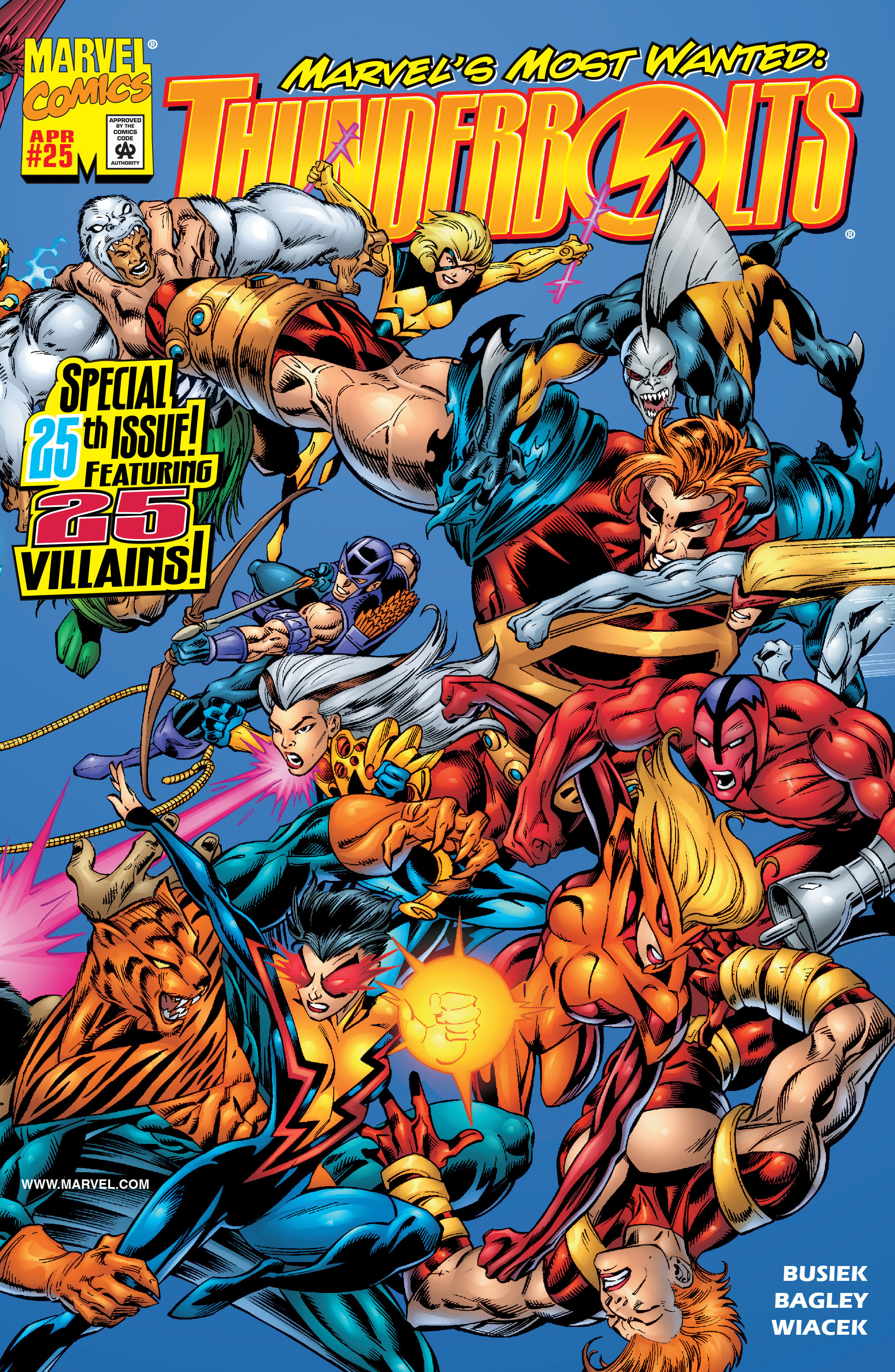 Thunderbolts Vol 1 25