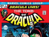 Tomb of Dracula Vol 1 1