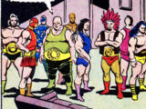 Unlimited Class Wrestling Federation (Earth-616)