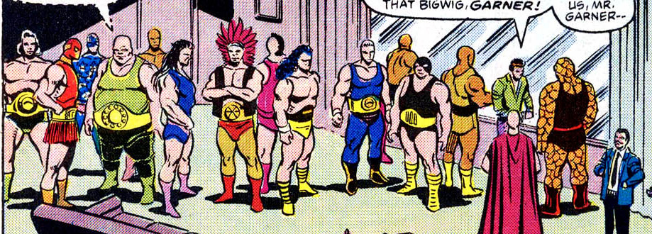 Unlimited Class Wrestling Federation (Earth-616)/Gallery