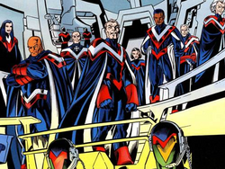V-Battalion (Earth-616) from All-New Official Handbook of the Marvel Universe Vol 1 12 001.png