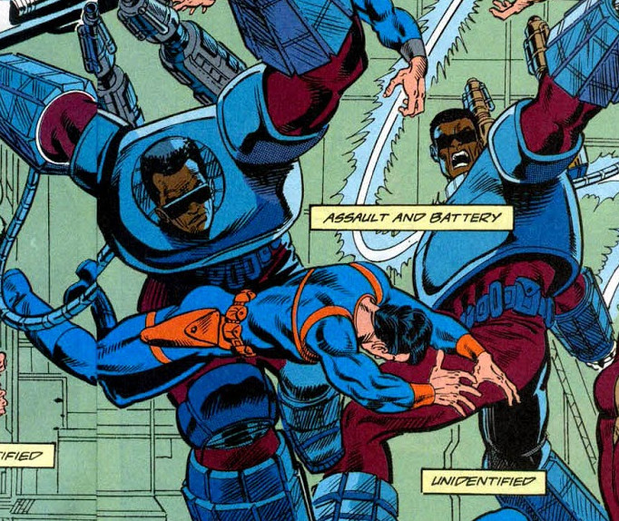 Assault and Battery (Earth-616)