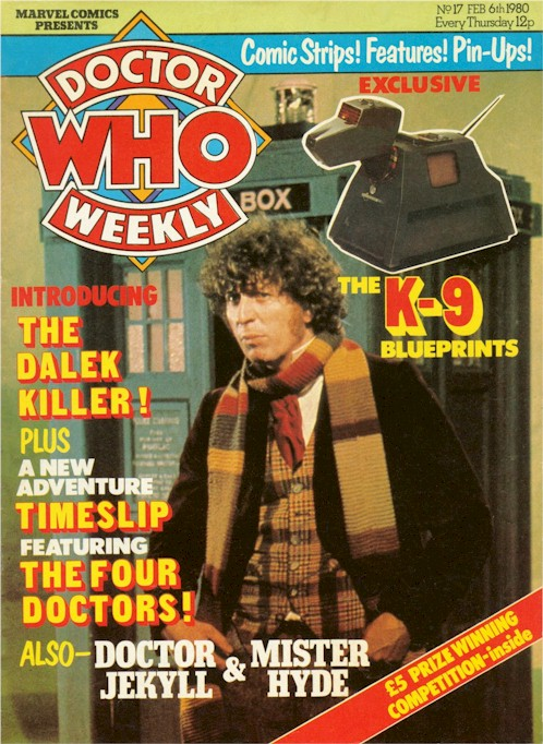 Doctor Who Weekly Vol 1 17