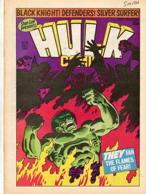 Hulk Comic (UK) Vol 1 45