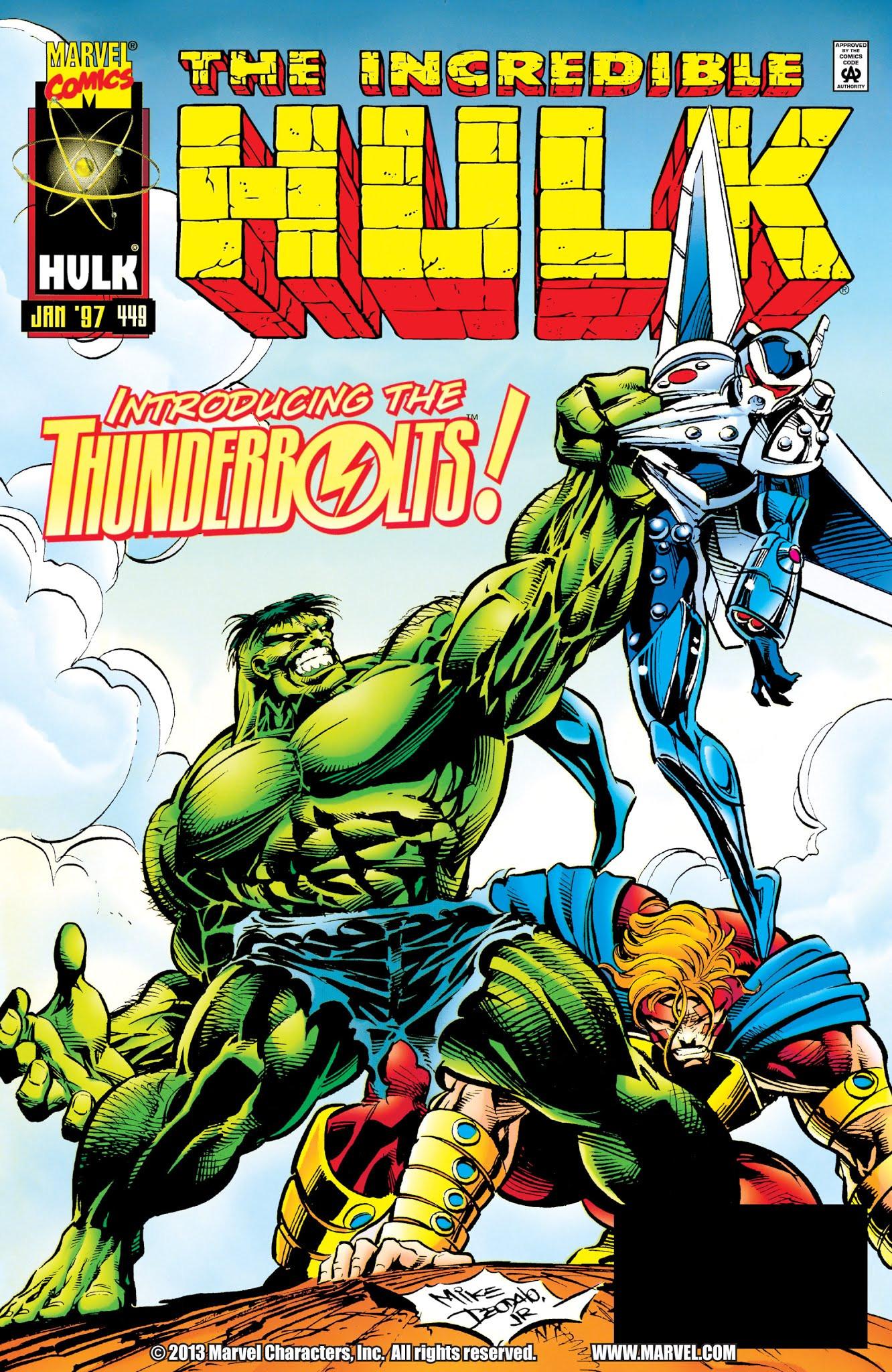 Incredible Hulk Vol 1 449