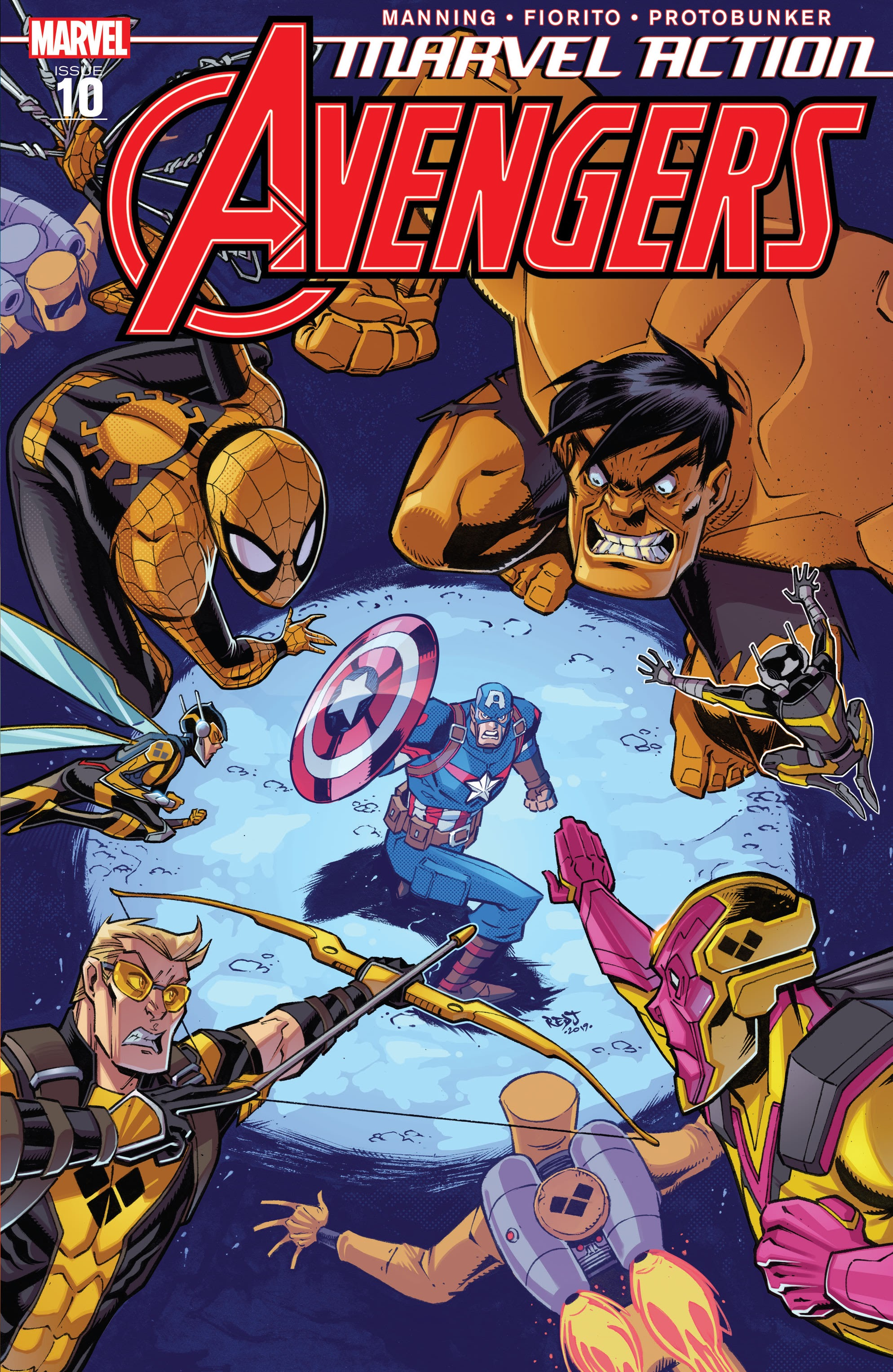 Marvel Action: Avengers Vol 1 10