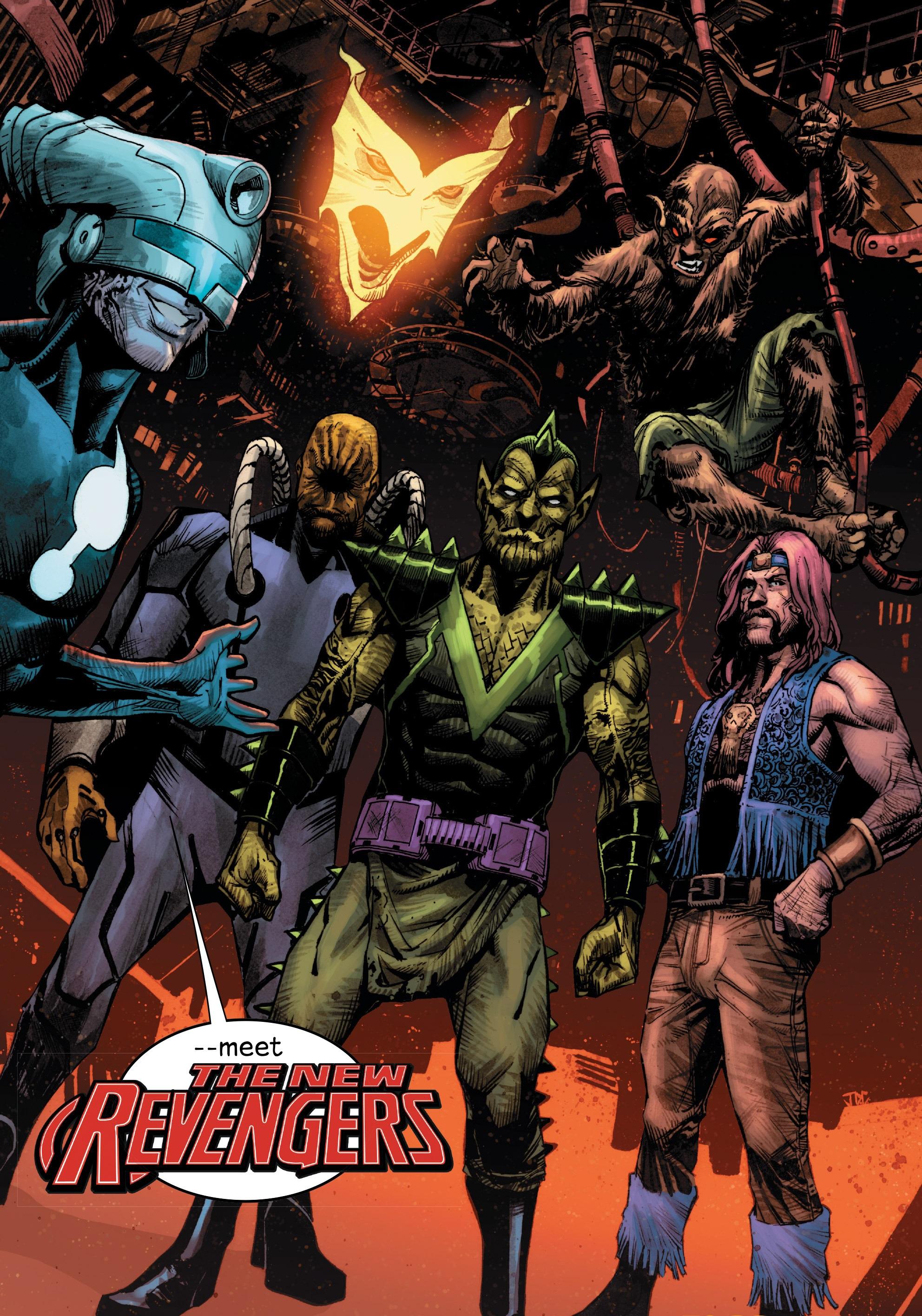 New Revengers (Earth-616)/Gallery