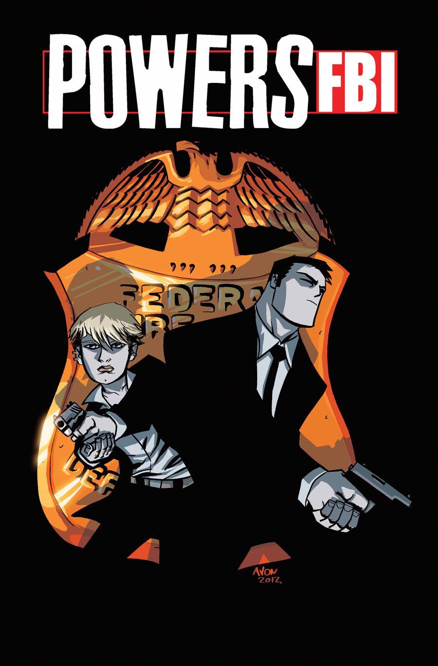 Powers: FBI Vol 1 1
