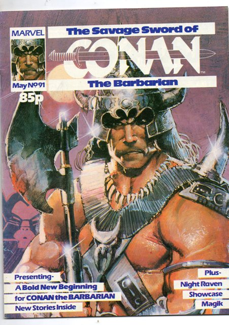 Savage Sword of Conan (UK) Vol 1 91