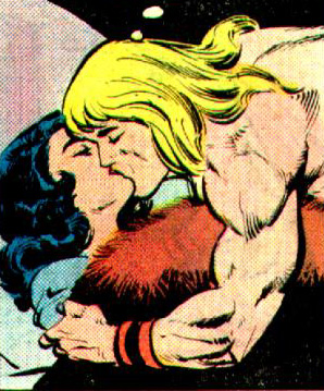 Sif (Earth-616) and Thor Odinson (Earth-616) from Thor Annual Vol 1 9 001.jpg
