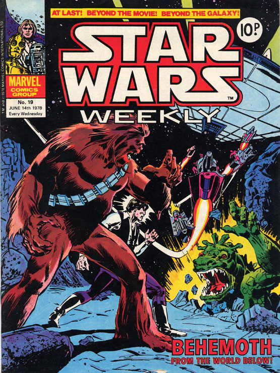 Star Wars Weekly (UK) Vol 1 19