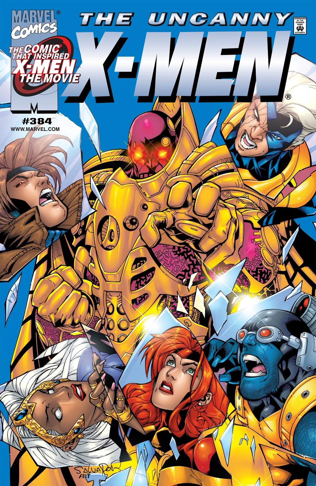 Uncanny X-Men Vol 1 384