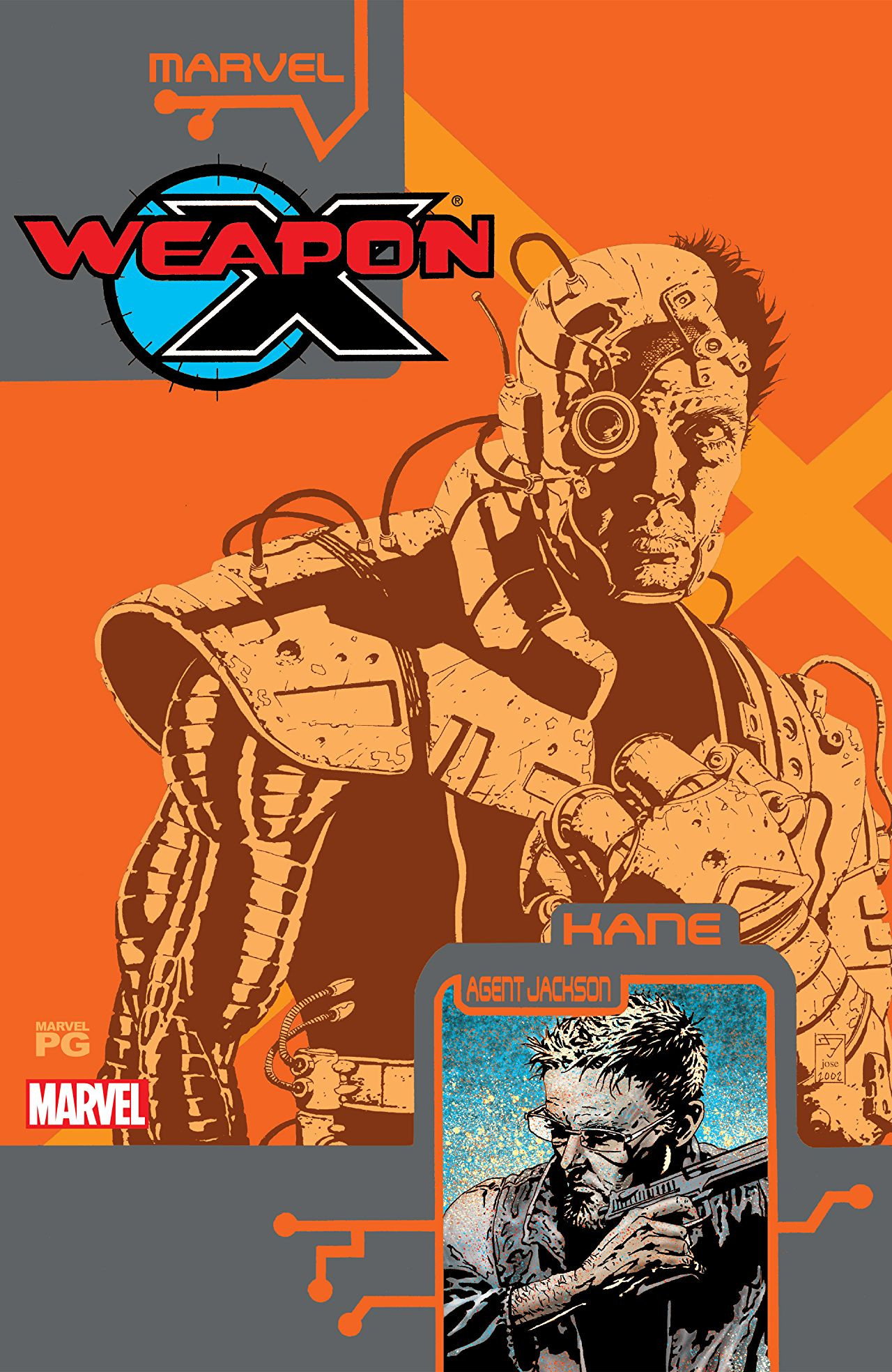 Weapon X: The Draft - Kane Vol 1 1