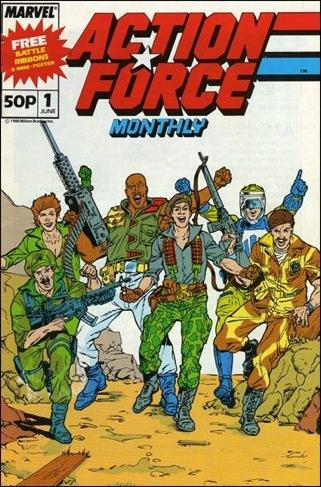 Action Force Monthly Vol 1 1