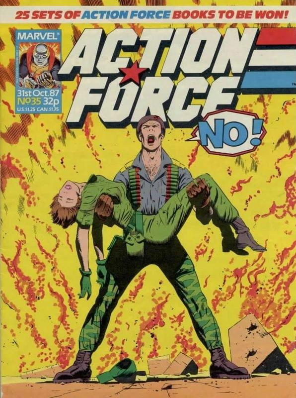 Action Force Vol 1 35