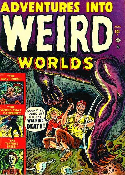 Adventures into Weird Worlds Vol 1 1