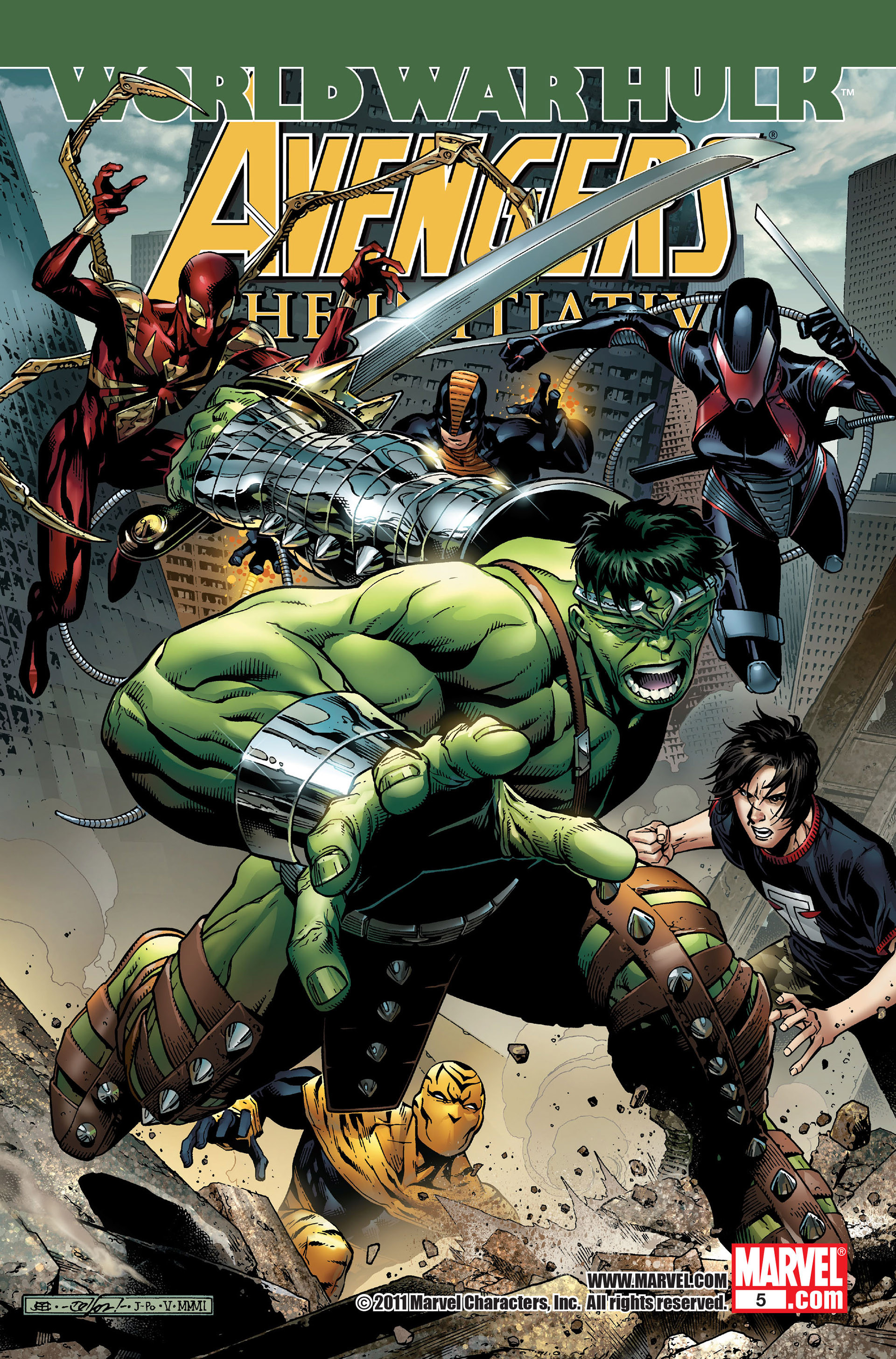 Avengers: The Initiative Vol 1 5