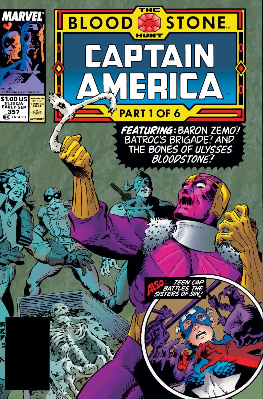 Captain America: The Bloodstone Hunt TPB Vol 1 1