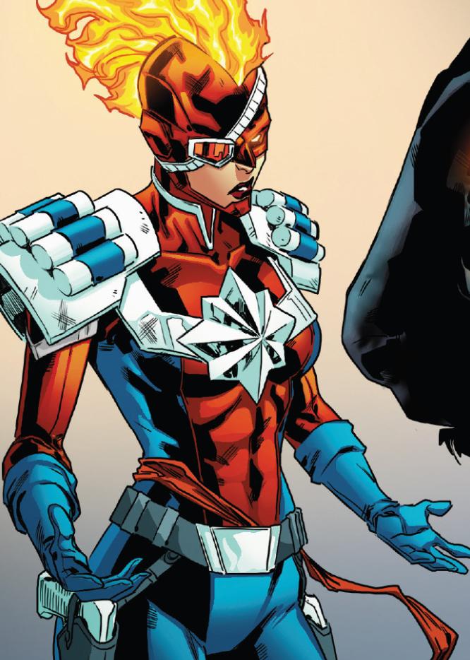 Captain Peace (Carol) (Warp World) (Earth-616)