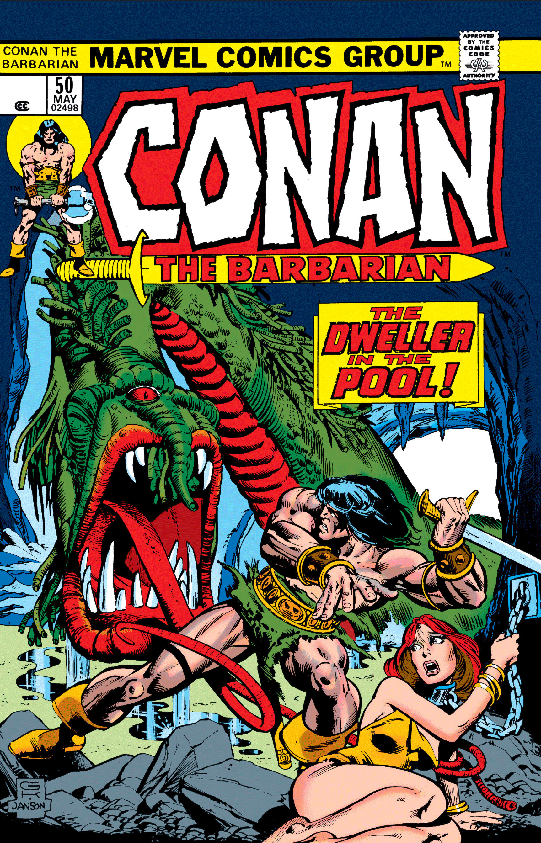 Conan the Barbarian Vol 1 50