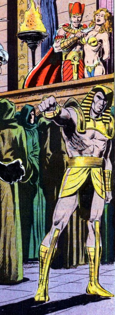 Cult of Living Pharaoh (Earth-616)/Gallery