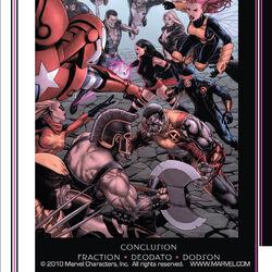Dark Avengers / Uncanny X-Men: Exodus Vol 1 1