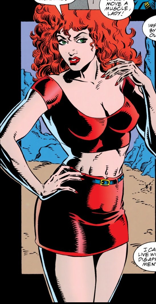 Donna Diego (Earth-616) from Venom Separation Anxiety Vol 1 1 0001.jpg