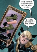 Illyana Rasputina (Earth-616) with Tarot Card from Wolverine Vol 7 7 001