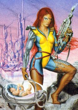 Jen Askani (Earth-4935) from 1994 Ultra X-Men (Trading Cards) 0001.jpg