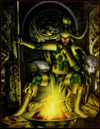 Loki Laufeyson (Earth-616) from Thor First Thunder Vol 1 2 (Cover)