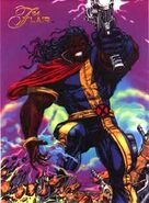 Lucas Bishop (Earth-1191) from Marvel Annual Flair (Trading Cards) 1994 Set 001