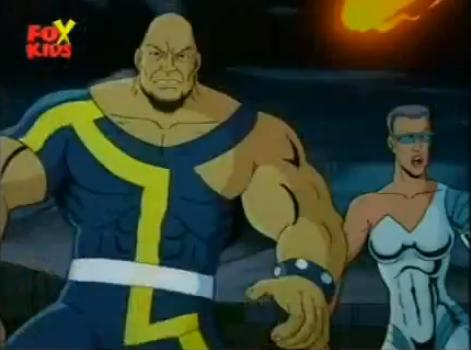 Michael Baer (Earth-92131) and Philippa Sontag (Earth-92131) from X-Men The Animated Series Season 4 6 001.jpg