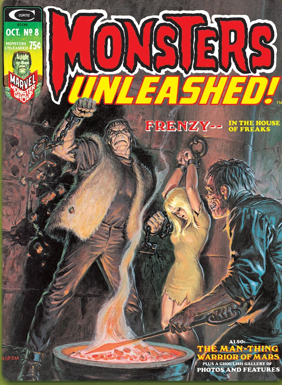 Monsters Unleashed Vol 1 8