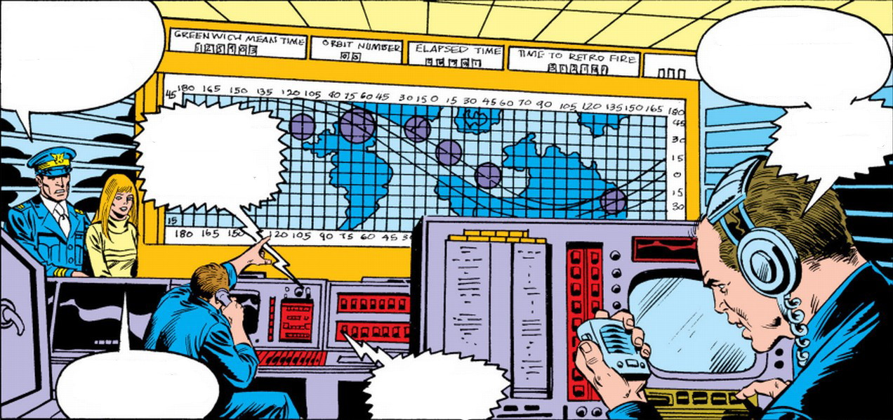 National Aeronautics and Space Administration (Earth-616)/Gallery