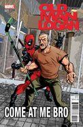 Old Man Logan Vol 2 1 Deadpool Variant