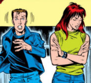 Peter Parker and Mary Jane Watson (Earth-616) from Amazing Spider-Man Vol 1 258 001