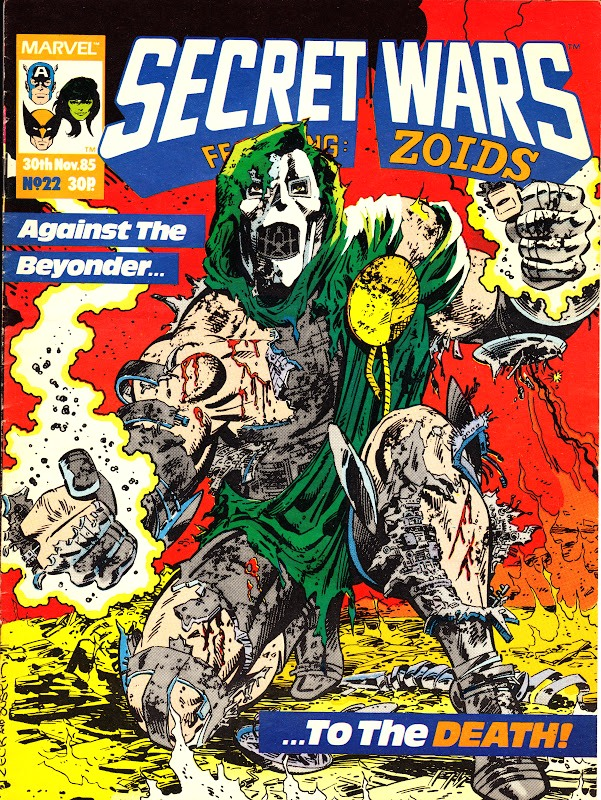 Secret Wars (UK) Vol 1 22