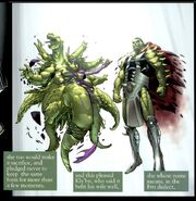 Skrulls ascention of Sl'Glu't and Kly'bn