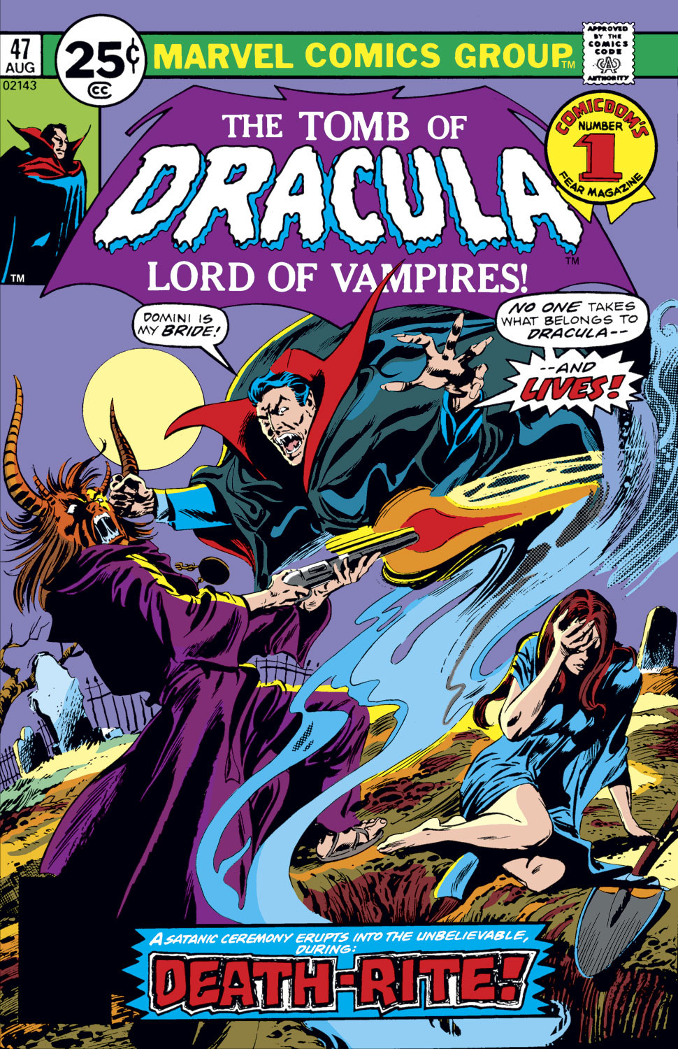 Tomb of Dracula Vol 1 47