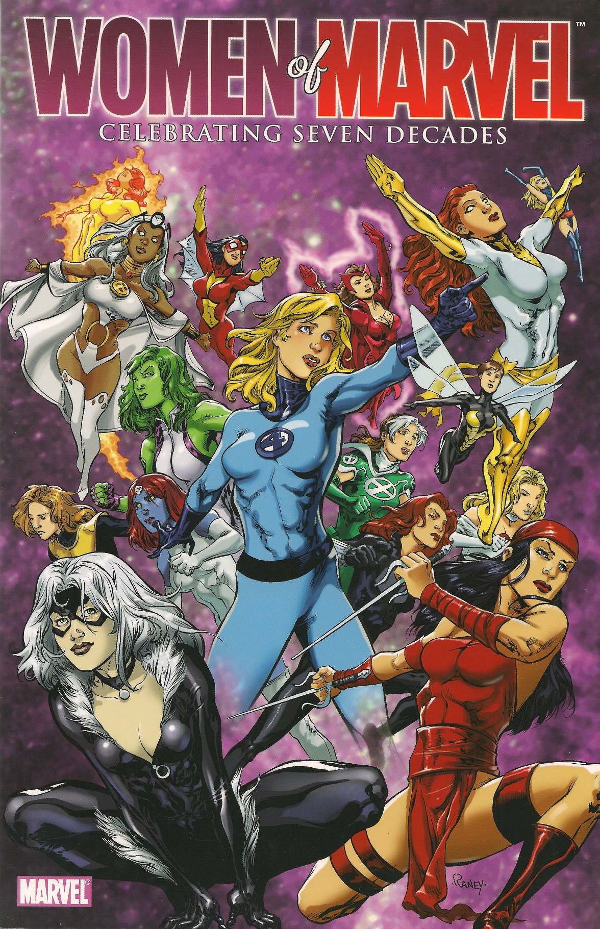 Women of Marvel: Celebrating Seven Decades Handbook Vol 1