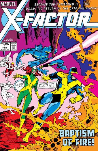 X Factor Vol 1 1 Marvel Database Fandom