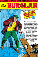 Burglar Pin-Up from Amazing Spider-Man Annual Vol 1 1