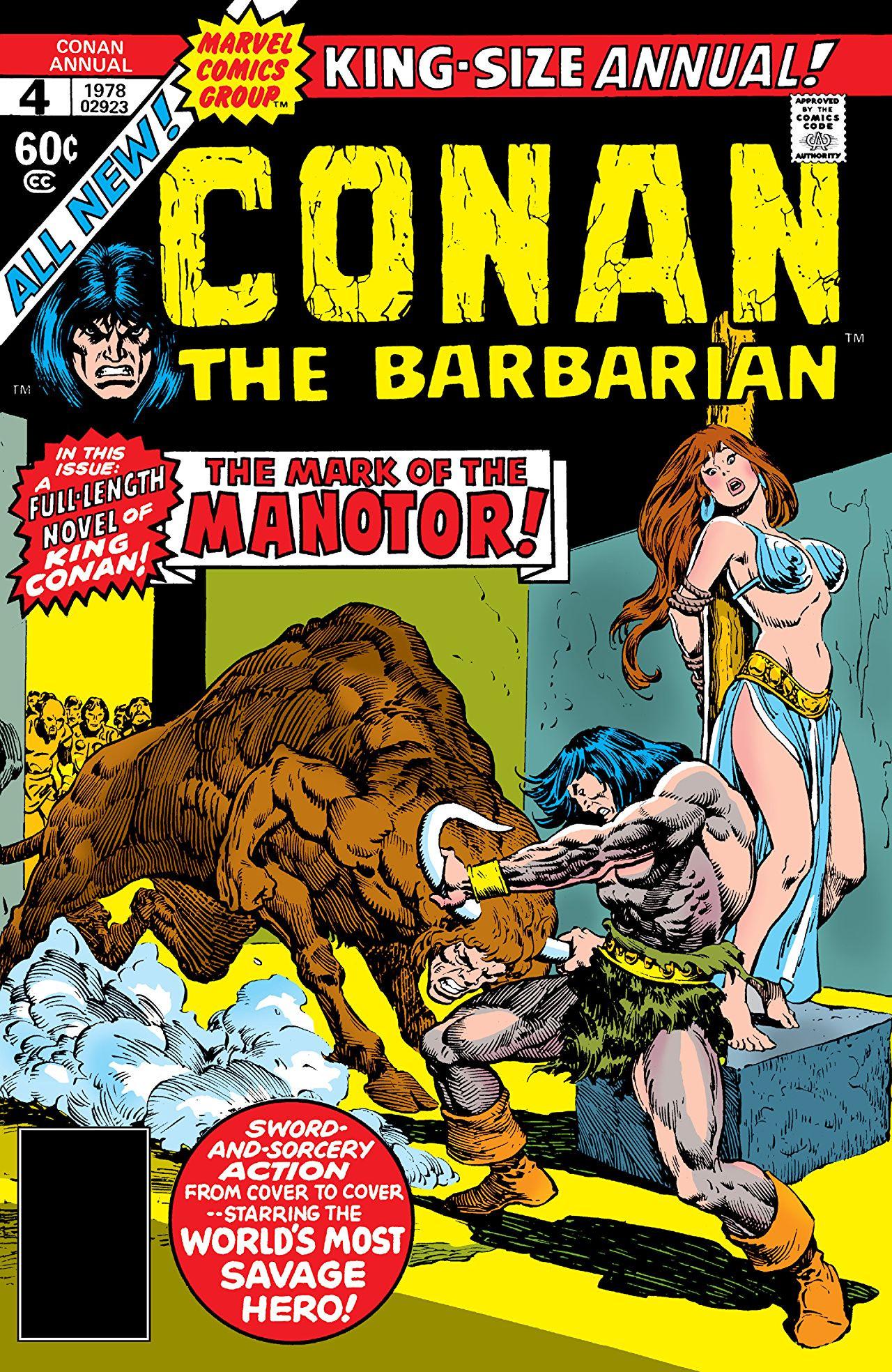 Conan the Barbarian Annual Vol 1 4